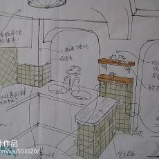 家居小厨房设计效果图