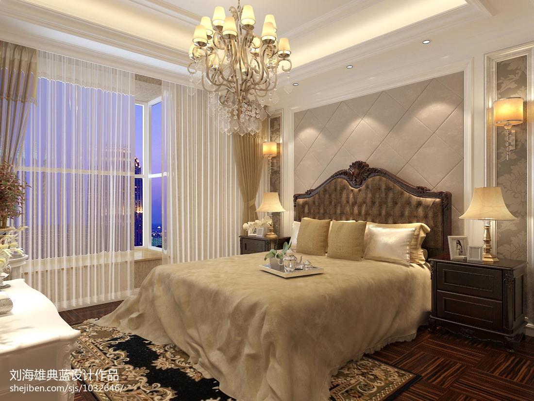 现代简约风卧室设计装修图
