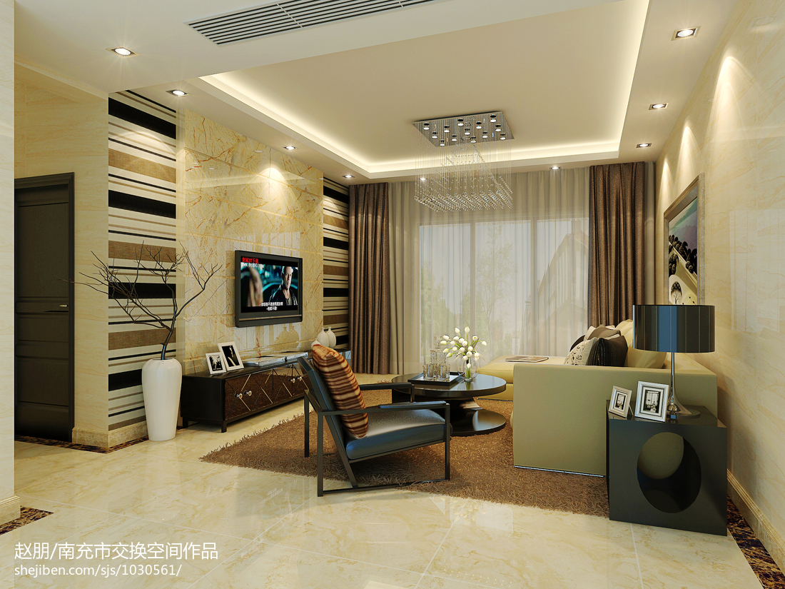家居时尚现代格调卧室装修图