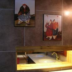热门新古典卫生间装修图片欣赏