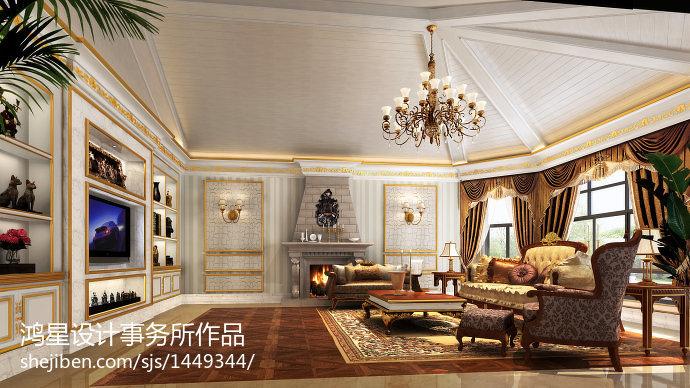 混搭时尚家居客厅设计