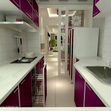 热门二居厨房现代装修欣赏图片