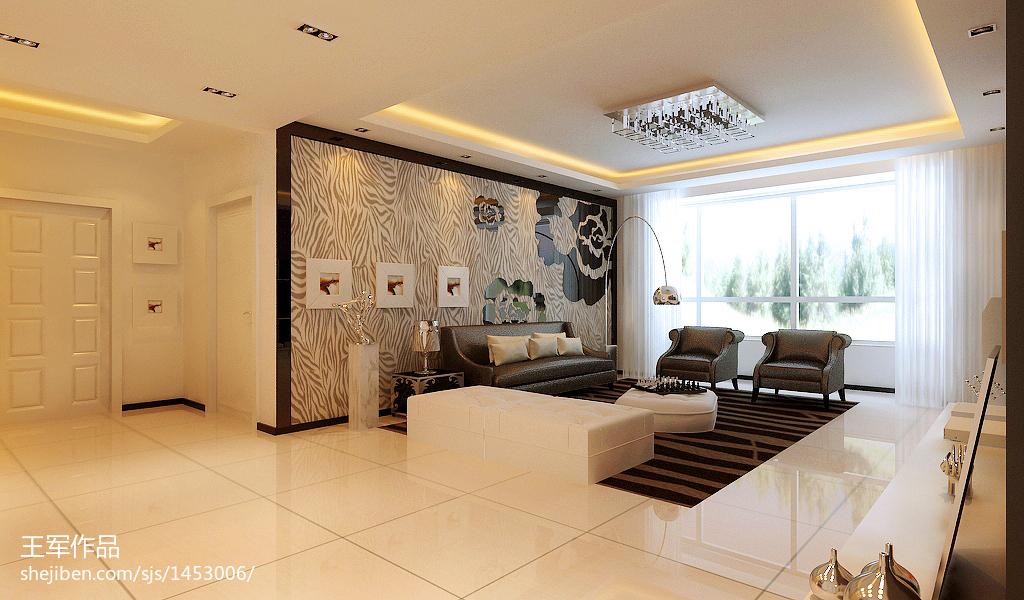 美式客厅装修图欣赏
