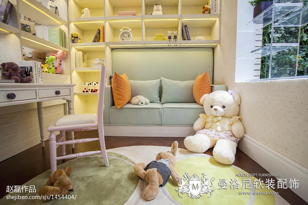 混搭时尚家居儿童房设计