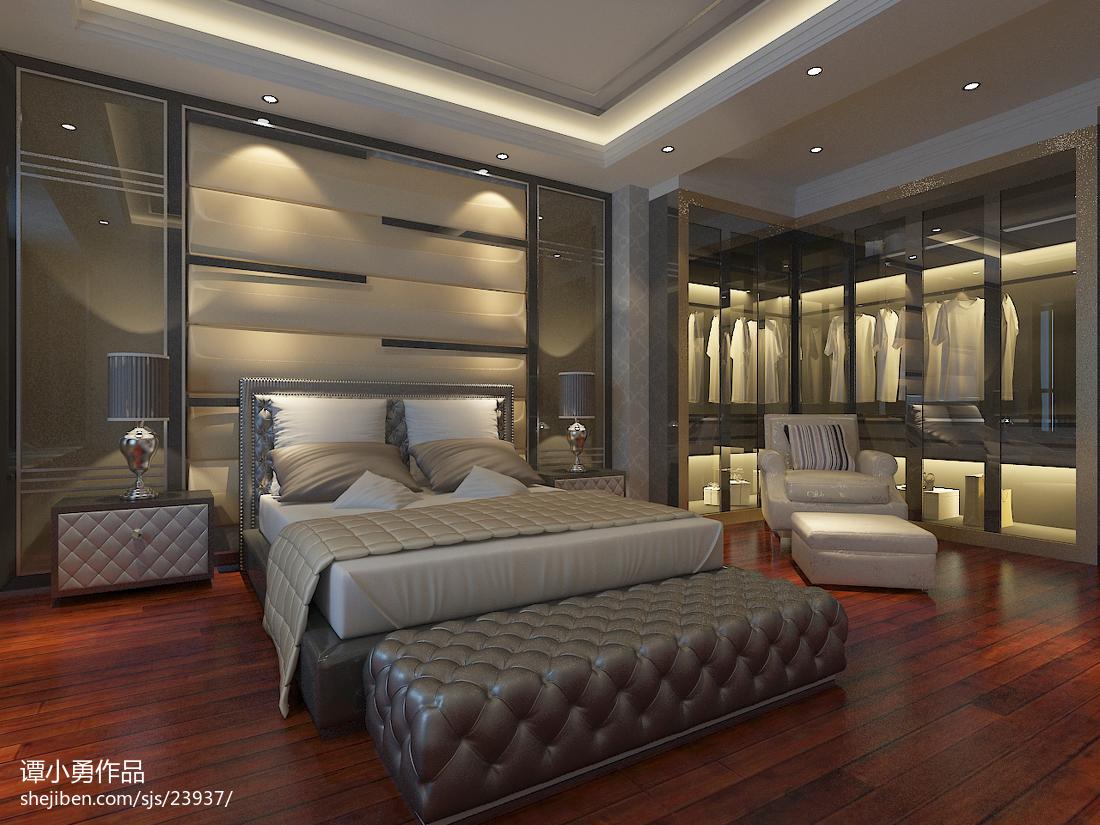 混搭风卧室设计图