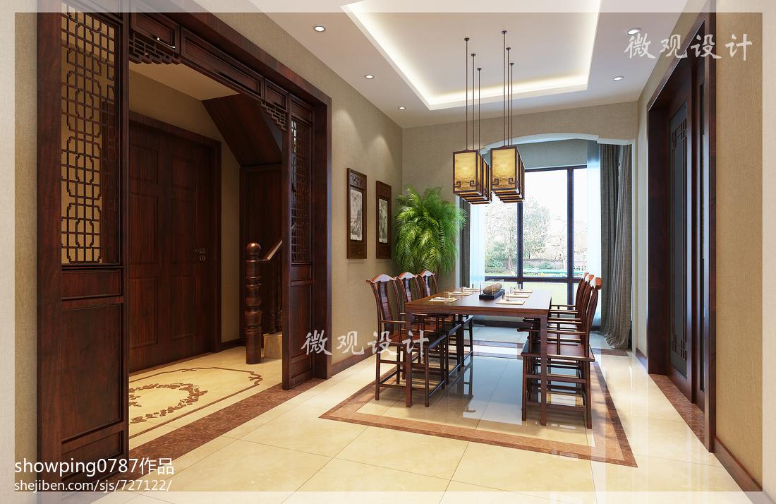 现代时尚设计厨房吧台效果图片