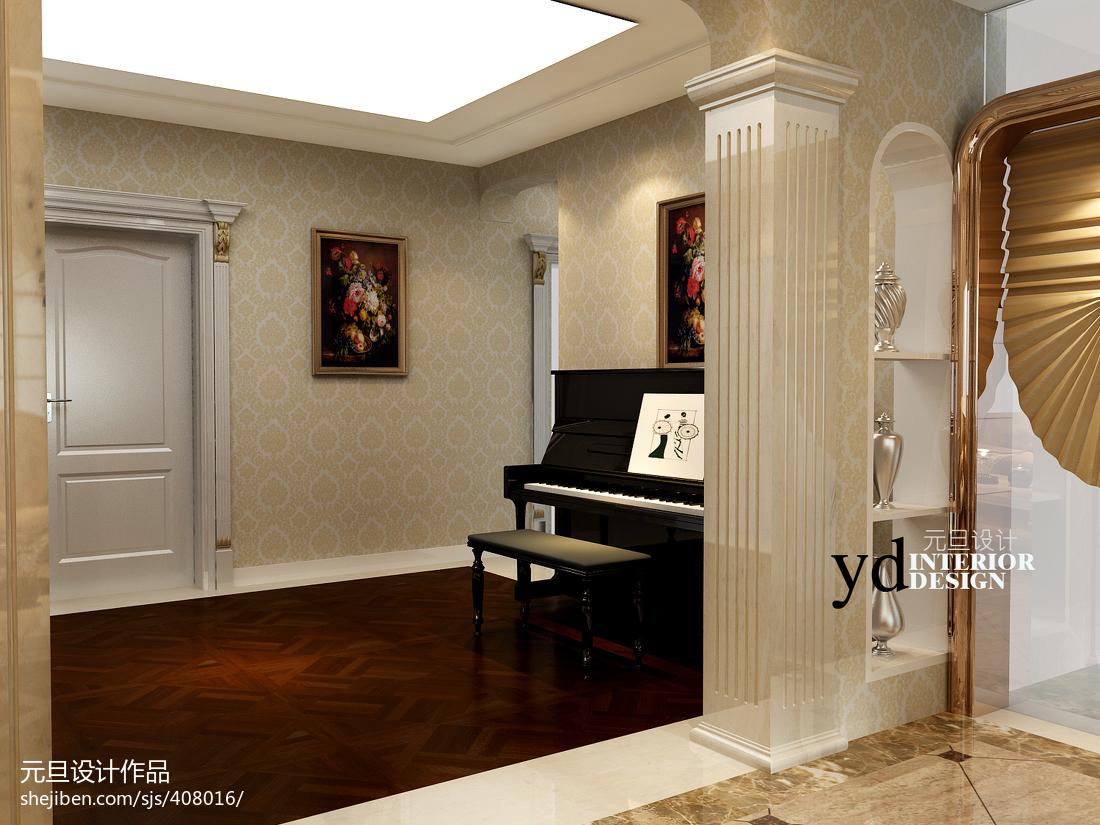 165平米现代四居室设计装修效果图