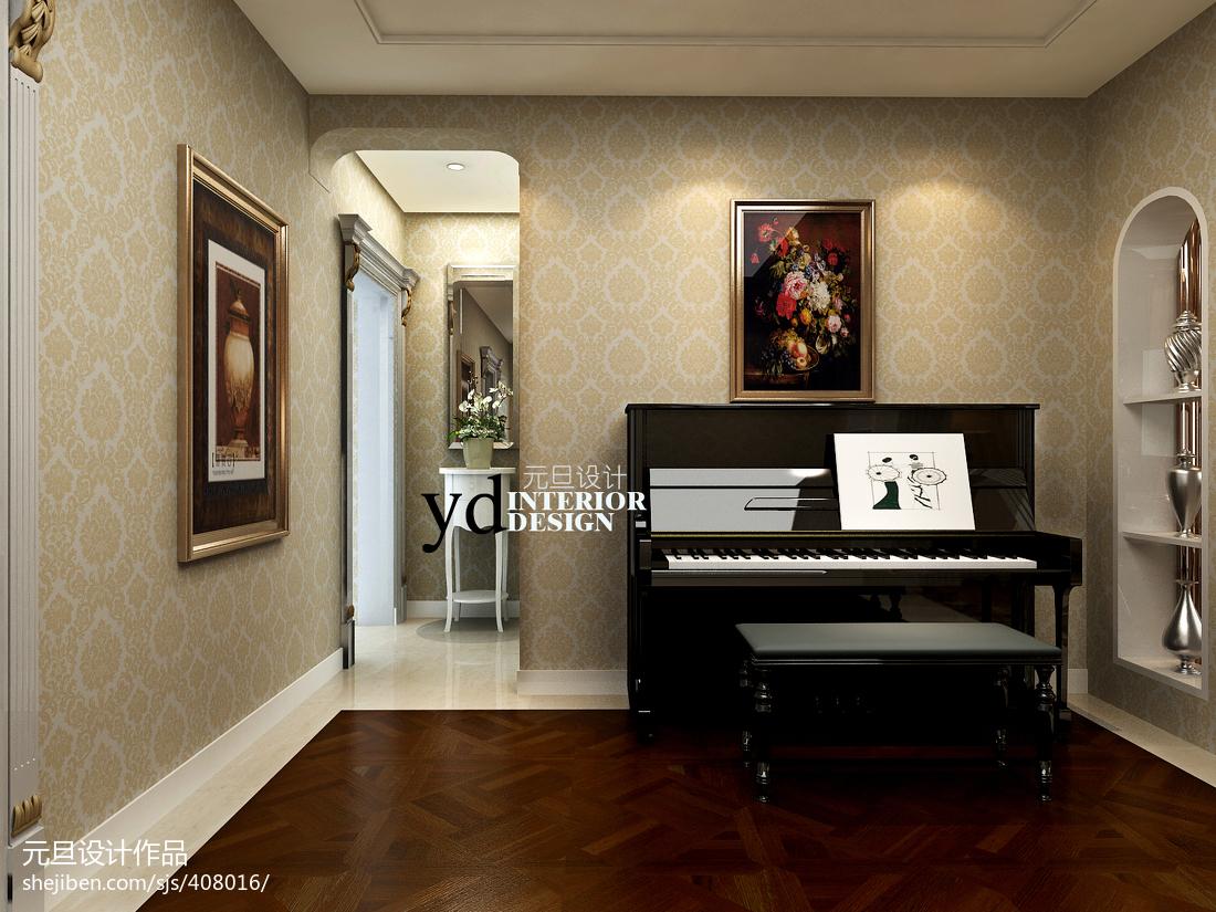 114平米四居休闲区现代装修实景图片大全