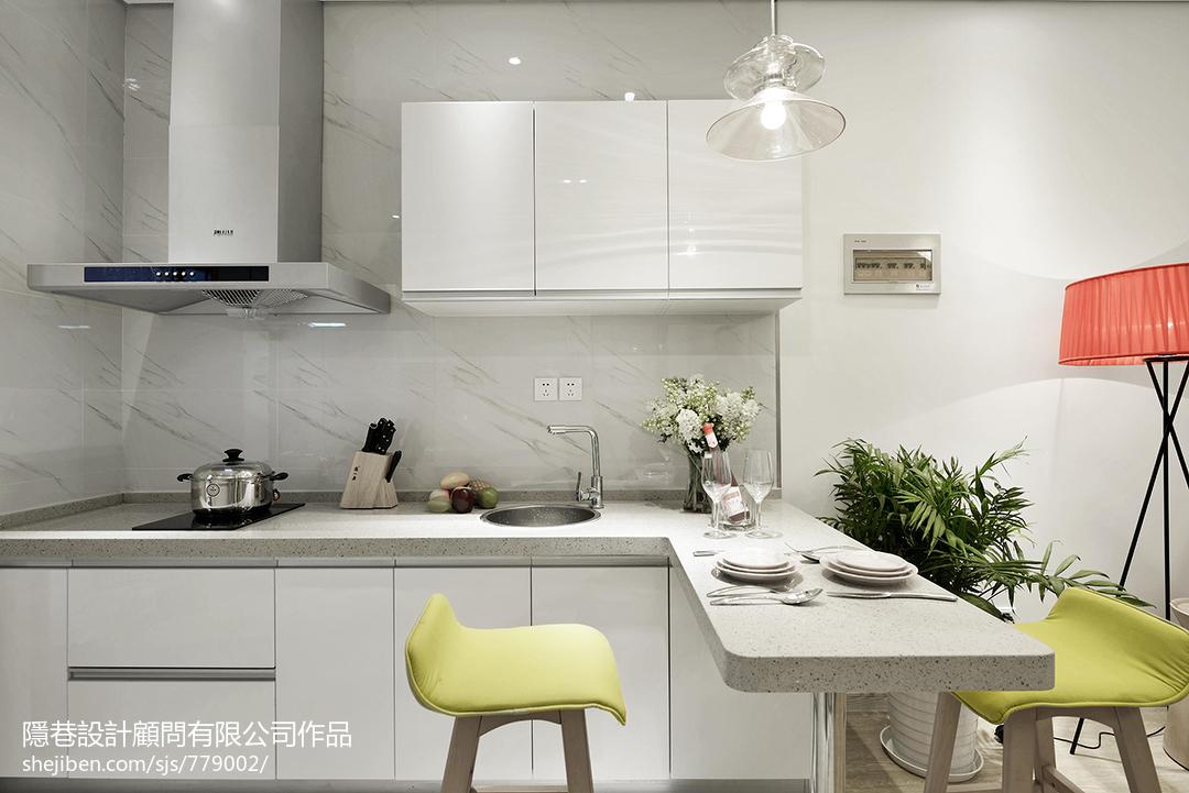 精美厨房混搭装修实景图片欣赏