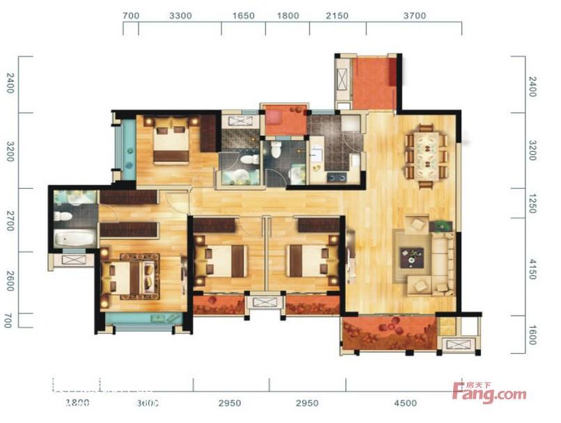 现代灰感家居客厅装修案例