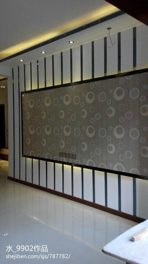 现代灰感家居客厅装修展示
