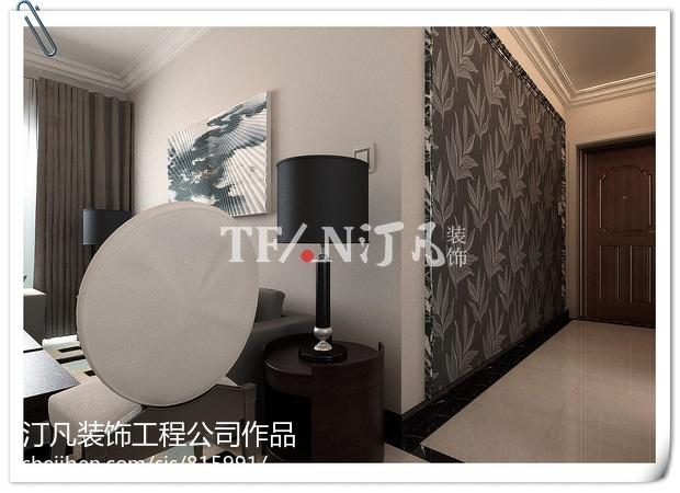 现代几何家居卧室装修