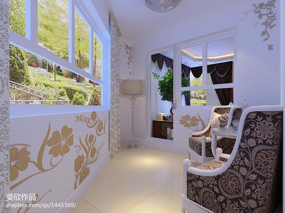 现代温馨三居室装修效果图