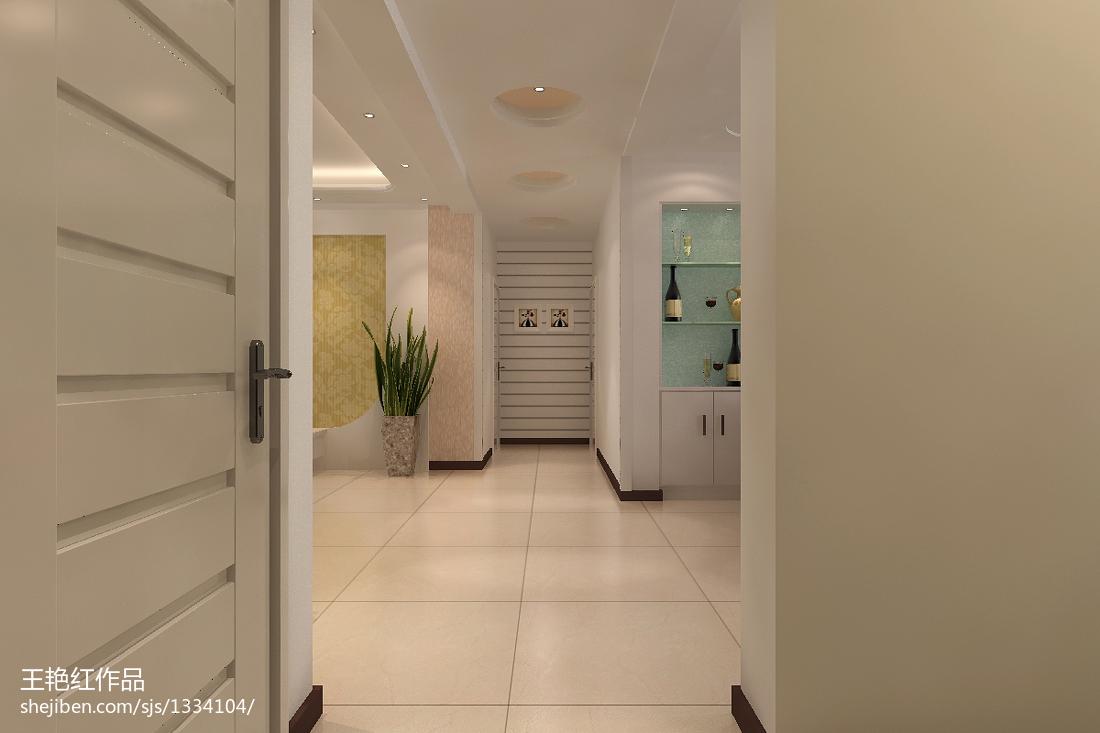 家装现代简约装修卧室效果图
