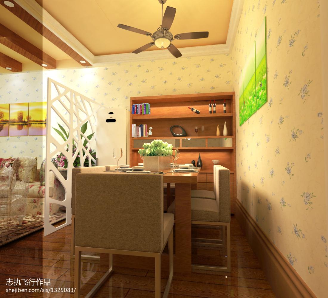 宜家风格卧室室内装修图片