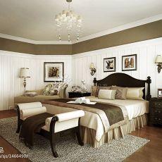 精选面积123平别墅卧室美式实景图片