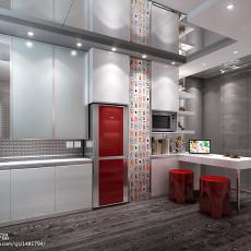 热门现代小户型餐厅效果图