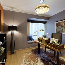 热门99平米三居书房现代装修图片欣赏