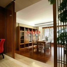 2018136平米现代复式书房装修效果图片欣赏