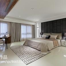 热门117平米现代别墅卧室效果图片欣赏