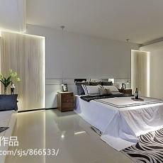 精美大小131平别墅卧室现代装修欣赏图片
