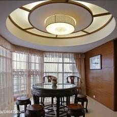 精美103平米三居休闲区中式装修实景图