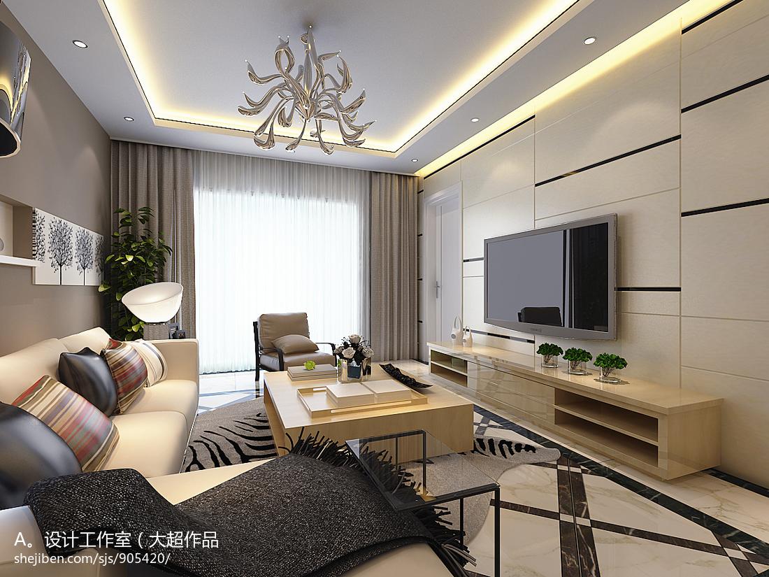 简约创意家居客厅装修