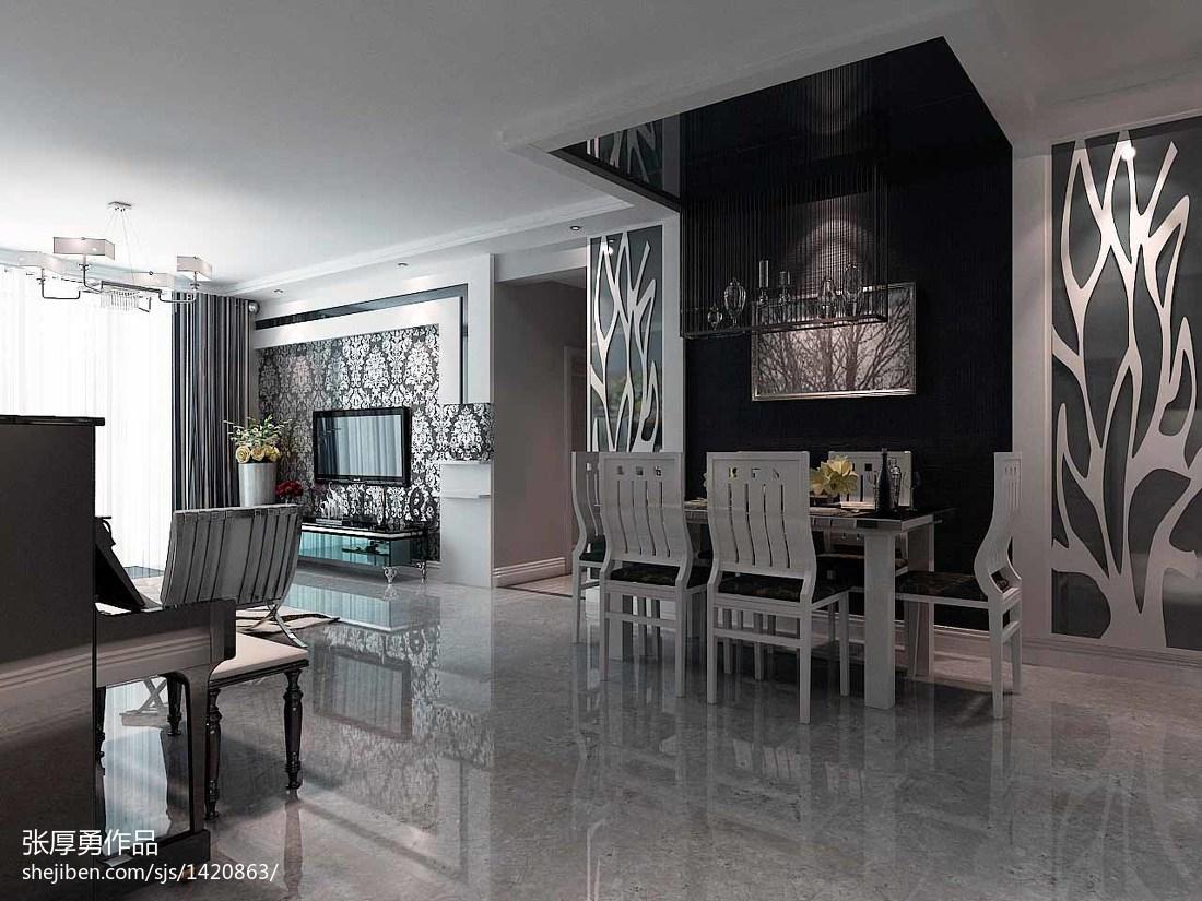 时尚现代简约风格室内装修效果图