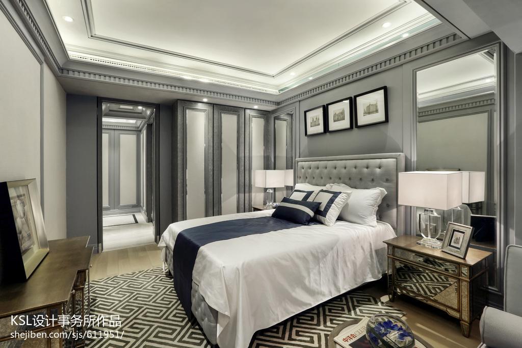 精选欧式卧室装修设计效果图片大全