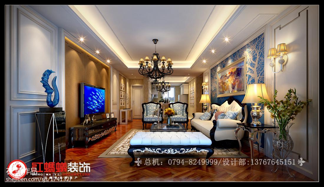 美式大宅卧室装修