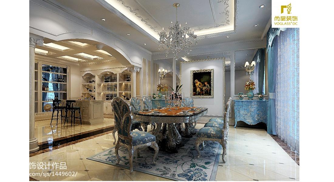 精美新古典家居餐厅装修