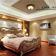 热门129平米欧式别墅客厅装修图