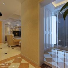 精美96平米三居玄关欧式装修效果图片