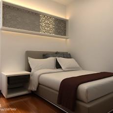 精美84平米混搭小户型卧室装饰图片欣赏