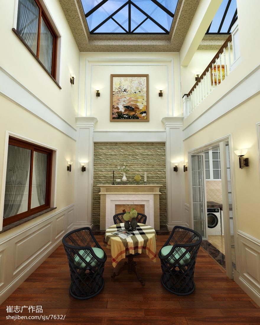 热门121平米欧式别墅休闲区设计效果图