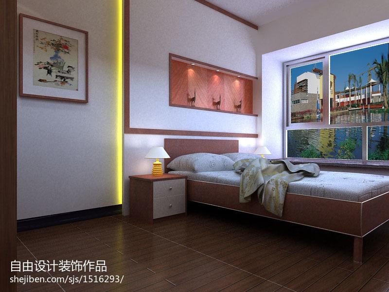 2018精选中式三居卧室实景图片