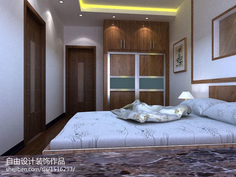 热门100平米三居卧室中式装修欣赏图片大全