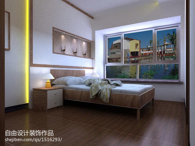纯中式卧室装修效果图