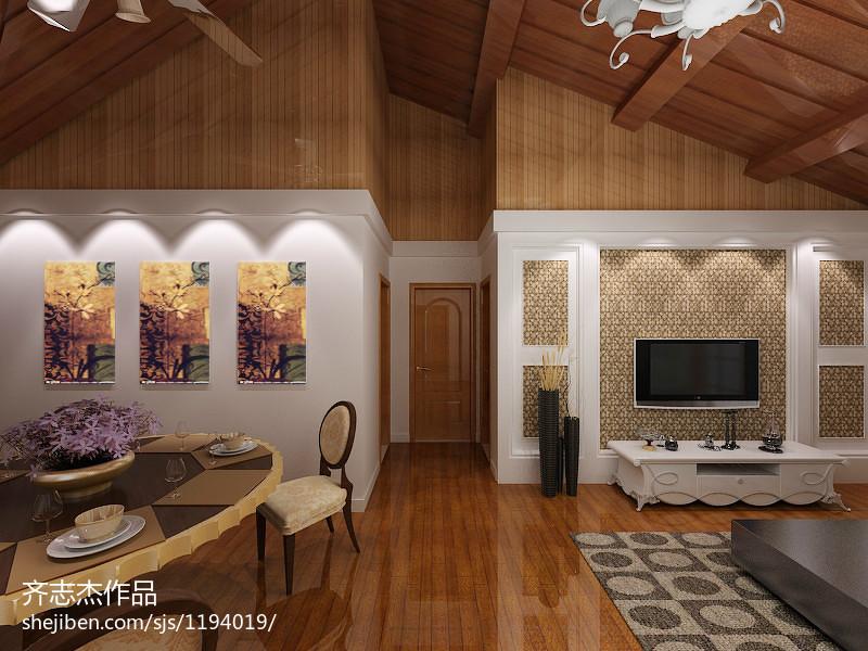 东南亚卧室隔断设计