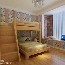 热门105平米三居儿童房现代装修实景图