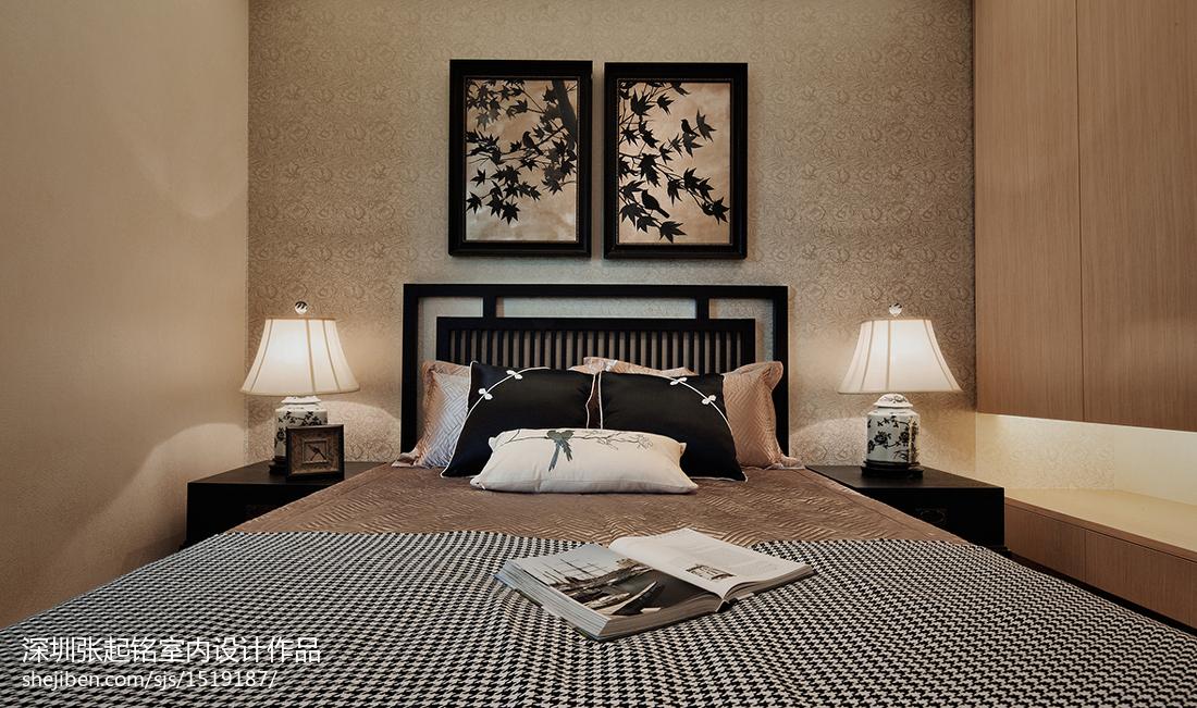 精选中式卧室装饰图片大全