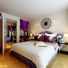 70平米现代小户型卧室装修效果图片大全