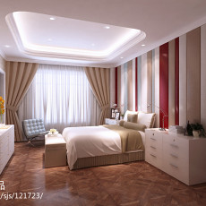 精美别墅卧室欧式装饰图片欣赏