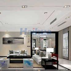 114平米现代别墅客厅装修图片