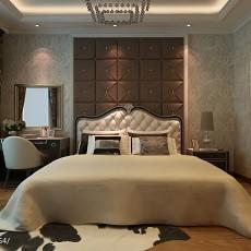 精选面积115平新古典四居卧室装修图片大全
