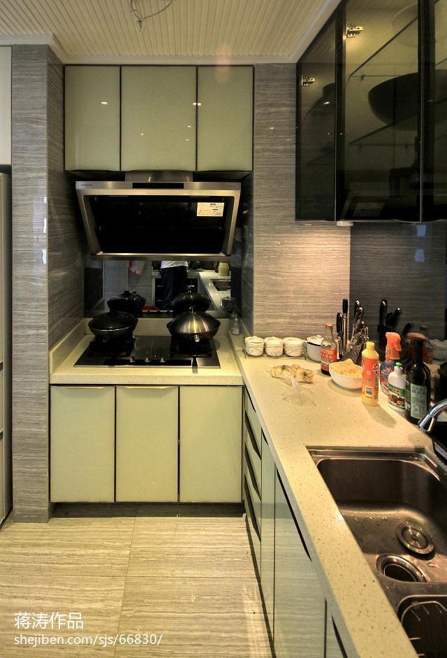 热门85平米二居厨房现代装修欣赏图片大全