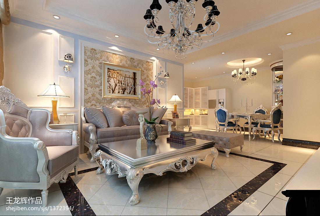粉色美式卧室装修