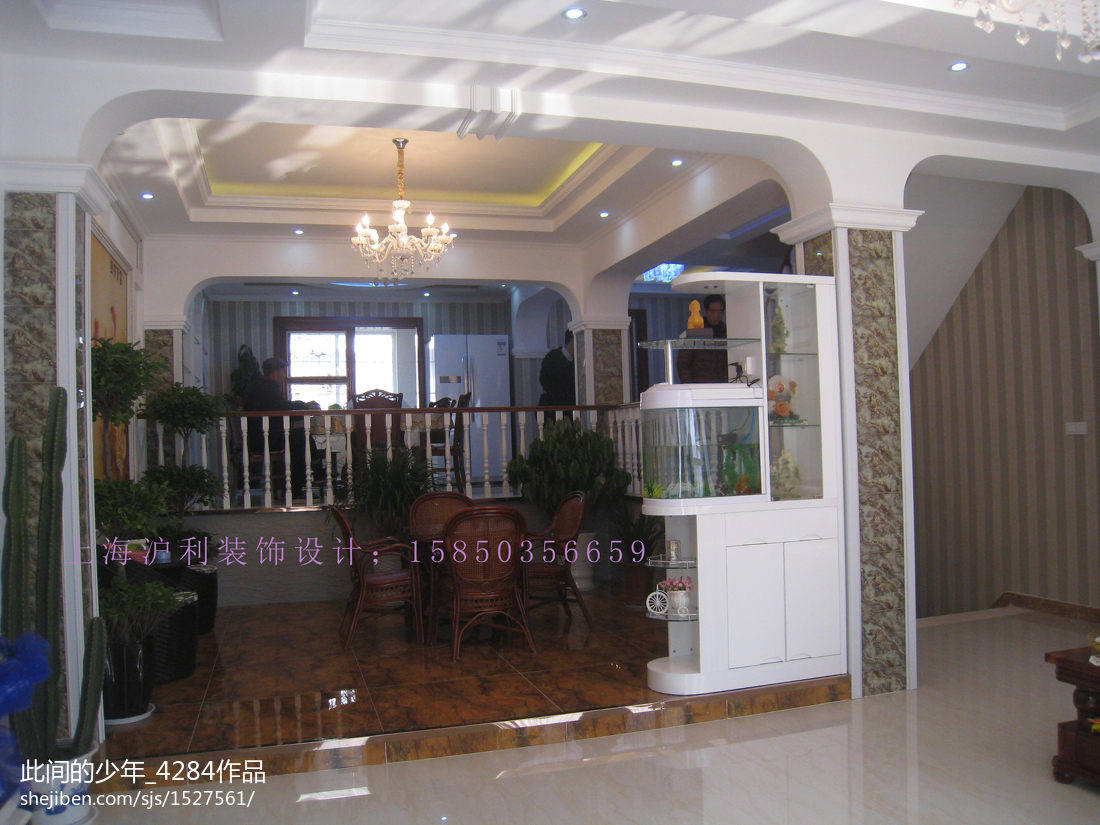精美127平米现代别墅休闲区装饰图片