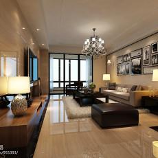 精选95平米三居客厅现代装修图片欣赏