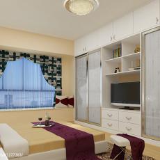 热门143平方四居卧室现代装修设计效果图片大全